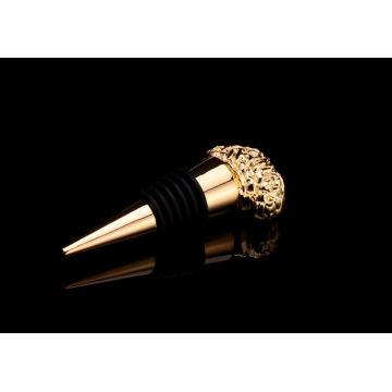 Rolha de garrafa de vinho banhado a ouro de forma irregular (gzhy-bs-014)