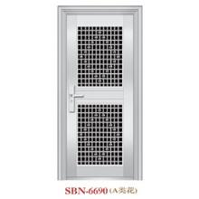Porta de aço inoxidável para a luz do sol exterior (SBN-6690)