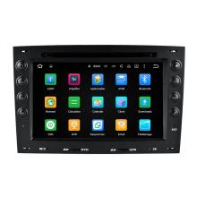 Radio de coche del precio de fábrica para la radio del coche de Renault Megane DVD GPS + sistema de navegación + jugador de las multimedias Bluetooth en tablero