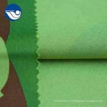 Tissu Mini Matt à impression numérique vert et noir