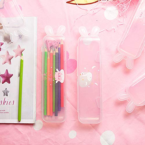 Transparent Ice Cream Pencil Case 4