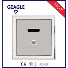 Válvula de lavagem de WC de alta qualidade escondida CE Aprovado válvula de descarga de sensor de urinário com botão manual ZY-1067A / D / AD