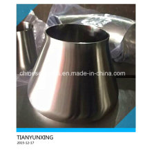 Aço inoxidável polido Redutor de aço concêntrico sanitário