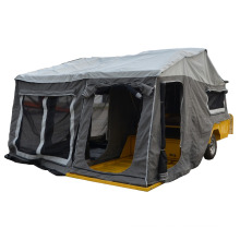 kindle topagee camper trailer with doors and tents and windows