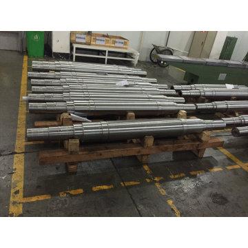 Eixo de Forjamento de Aço com Fábrica de Material de Aço Inoxidável
