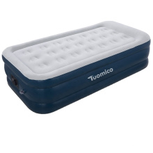 SUNGOOLE Lazy Sleep Inflatable Mattress with Rechargeable Electric Pump Easy Inflation Compact Portable Carrying Bag