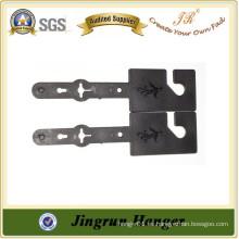 Fabricación popular de la suspensión del precio barato Cintura plástica negra de la correa