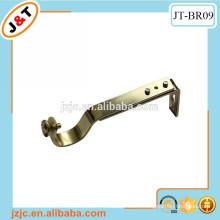 metal flat curtain rod brackets