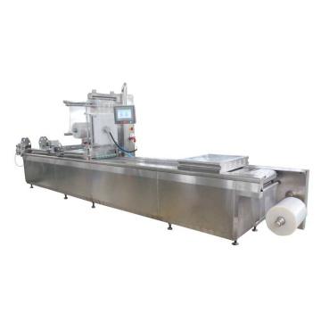 Dlz-460 Vollautomatische Vakuumverpackungsmaschine mit kontinuierlicher Dehnung