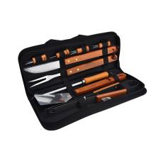 Набор инструментов для гриля с сумкой для хранения в подарок