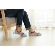 Fashion Design Space Dye Yarn Man Low Cut Cotton Socks Customs Designs
