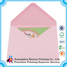 Пользовательские оптовая мини подарочная карта конверт для подарочных карт