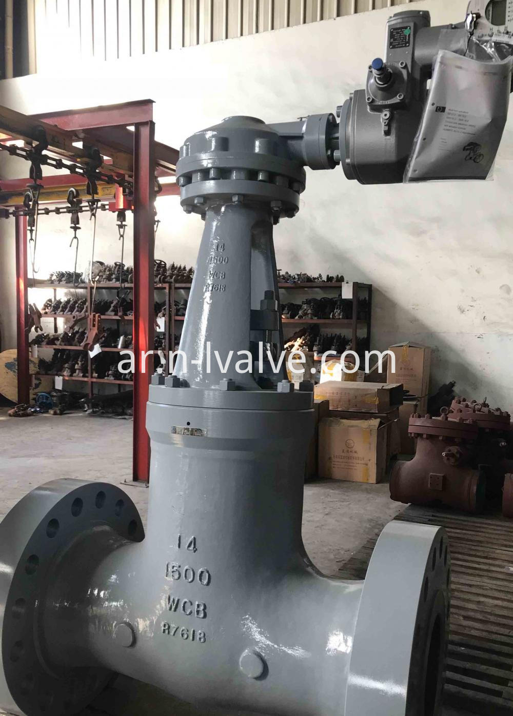 Auma Actuator Operated Pressure Seal Gate Valve