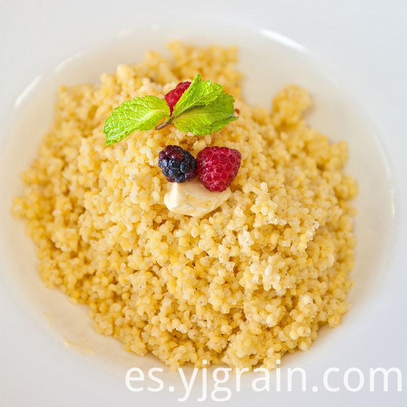 Pumpkin millet porridge