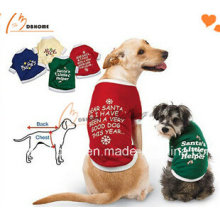 2015 novo design barato roupas de cachorro coloridas camisetas para cães
