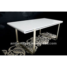 high gloss finishing dining table