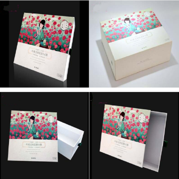 Custom cosmetic packaging boxes.