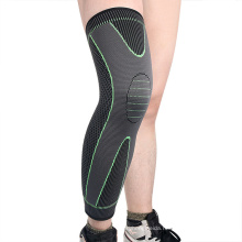 Knitted Nylon Sports Long Knee Pads Men and Women Leg Protection Basketball Football Mountain Climbing Warm Knee Pads
