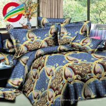 beautiful microfiber printed textile sheet bed home sets