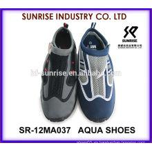 SR-12MA037 Zapatos de surf del neopreno de los hombres Zapatos del agua de los zapatos del agua zapatos que practican surf del agua de los zapatos