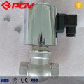 Electrovanne ZQDF en acier inoxydable pour l'eau chaude