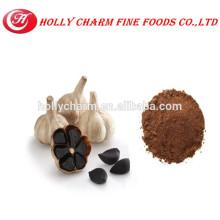 Plant extract fermented black garlic powder