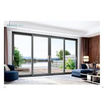 Puertas corredizas de aluminio con vidrio aislante