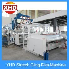 Полуавтоматическая машина для производства стретч-пленки из экструзионной пленки LLDPE 12 ~ 50 Micro