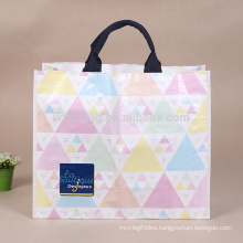 Reusable Gorgeous PP Tote Woven Gift Bag Promotional With Lamination