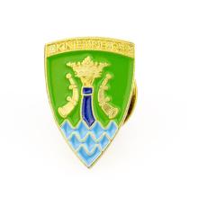 Cheap custom metal escudo en forma de pin de solapa