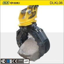 Excavator rock grapple, rock grabs, mini excavator grab