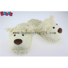 Cartoon Warm Mulheres Chinelo Plush Stuffed Sheep Indoor Shoes