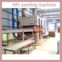 Schleifmaschine für Hochdrucklaminate (HPL)