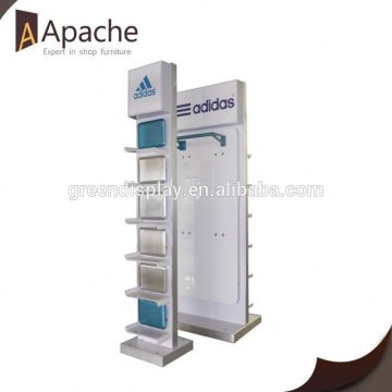 Popular for the market durable advertising display stand with peg hook