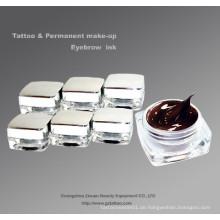 Permanent Makeup Augenbraue Tattoo Pigment