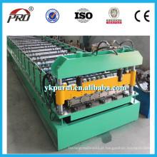 Máquina automática de fabricação de azulejos para telhados de panela de venda quente automática