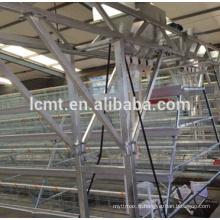 cages en acier galvanisé à chaud pour poulet poulette