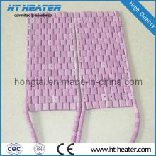 Calentador de almohadilla calefactora de tubo de cerámica flexible (HT-FH)