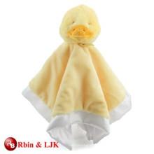 Cojín encantador promocional de encargo del bebé con el pato de la felpa