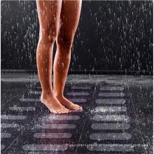Fita PEVA antiderrapante para piso de banheiro