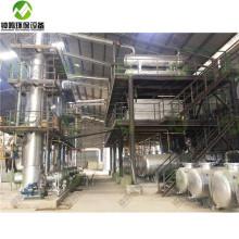 Wie gebrauchtes Motormotoröl recycelt wird Destillation