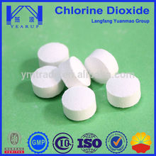 High Quality Cleaning Chemicals Chlorine Dioxide Made in China