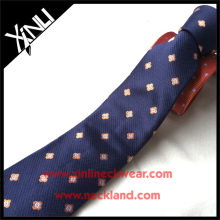 Top Quality 100% Silk Jacquard Polka Atacado Neck Tie