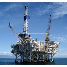 Máquina de perforación rotativa hidráulica de la plataforma de perforación petrolífera