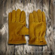 Детский Сад Перчатки-Кожаные Перчатки-Рабочие Перчатки Кожа Безопасности Перчатки Промышленные Перчатки
