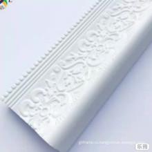 Популярный дизайн изготовление поставщика белая рамка литье с рисунком