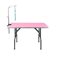 Pet Grooming Table Vet Beauty Table Pet Hairdressing Table with Basket Stainless Steel
