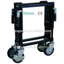 DW-TR001 stainless steel funeral trolley for coffin lifting