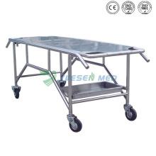 Chariot mortuaire d'hôpital médical commercial de guichet unique