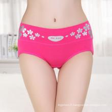 Maillot moyen femme sexy en pantalons impression micro femme sous culotte mode femme culotte